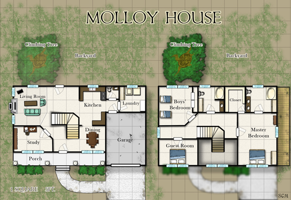 Kencyclopedia kender cartography portfolio for Modern house roleplay